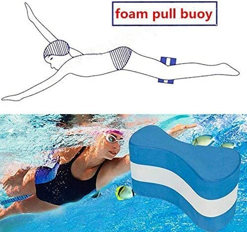 Homelectric Inc Schwimmschiene Pull Buoy Figure-Eight Shaped Leg Float Sch