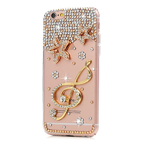 iPhone 6S Cover iPhone 6 Custodia Slim Rigida Plastica Trasparente Tutti i Angoli Coperti - MAXFE.CO, Custodia Ultra Sottile Case Protettiva per iPhone 6/6S - Stella
