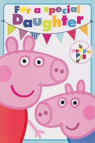 Amazon Peppa Pig Daughter Birthday Card Pop Up Toys Games