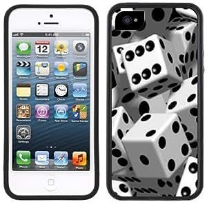 Dice Handmade iPhone 5C Black Case by supermalls