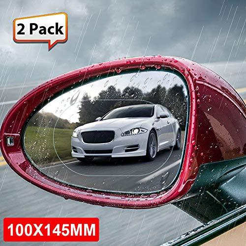 WLGREATSP Kits de Espejos retrovisores para automóviles, 2X Película Impermeable retrovisor retrovisor para Coche Pegatinas...