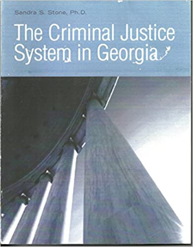 Book The Criminal Justice System in Georgia