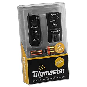 Aputure 2.4 Ghz Trigmaster Radio Remote Flash Trigger and Shutter Cable Release, for Olympus E-400, E-410, E-420, E-450, E-510, E-520, E-620, SP-57DUZ, SP-560EZ, SP-550EZ, SP-510EZ, PEN E-PL1s, E-PL2, E-PL3, E-P2, E-P3, E-M, OM-D E-M5, Replaces Olympus RM-UC1