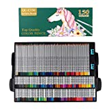 Colored pencils- Professional Art wood Premium Distinct Drawing Unleaded poison artist watercolor color pencils set with sharpeners for adults and kids, Sketching, 150 Colors