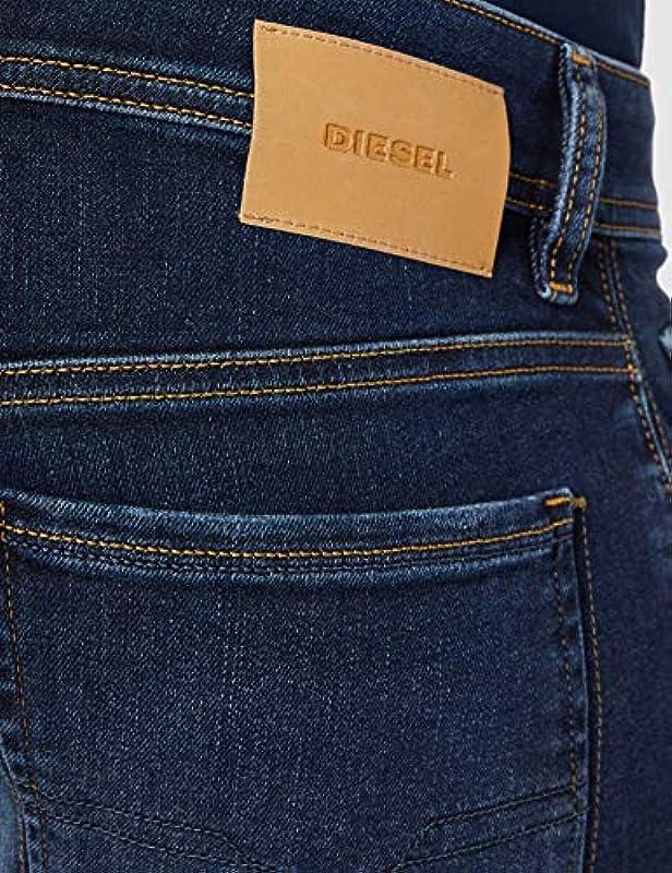 Diesel męskie sleenker wąskie dżinsy -086aj: Odzież
