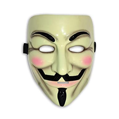 V for Vendetta Deluxe Mask Costume Mask