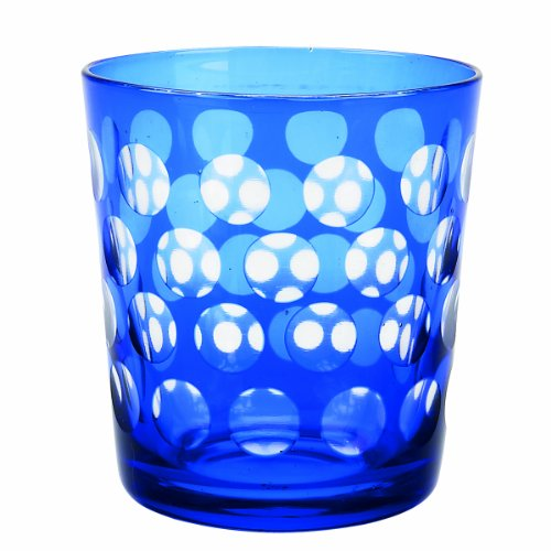 picture of IMPULSE! Melrose Rock Glass, Blue, Set of 6