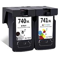 LEBOK Remanufactured PG-740XL CL-740XL Ink Cartridges for Canon PG740 740XL CL741 741XL Ink Cartridges for Canon Pixma…