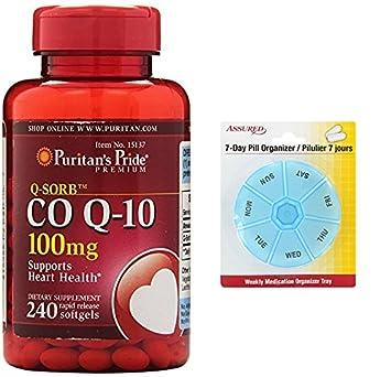 Pride de Puritan Q-SORB Co Q-10 100 cápsulas de 240 mg de