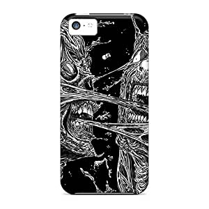 Shock Absorption Hard Phone Case For Iphone 5c (zWk4209mnsj) Allow Personal Design HD Muse Image