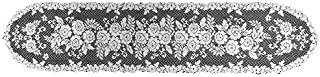 product image for Heritage Lace Victorian Rose 13-Inch by 72-Inch Runner, Ecru