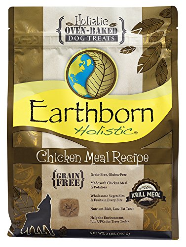Earthborn Holistic Chicken Meal Recipe Oven-baked Dog Treats ()