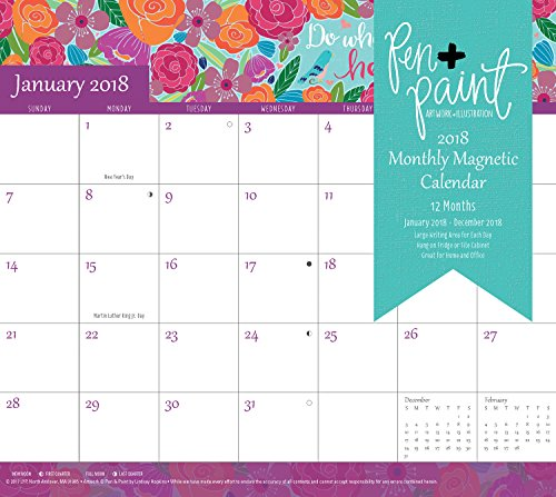 Summit Monthly Magnetic Calendar 90548