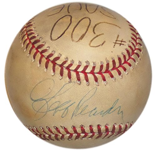 JEFF REARDON SIGNED GAME USED 300th SAVE UMPIRE DURWOOD MERRILL's PERSONAL BALL - MLB Autographed Game Used Baseballs