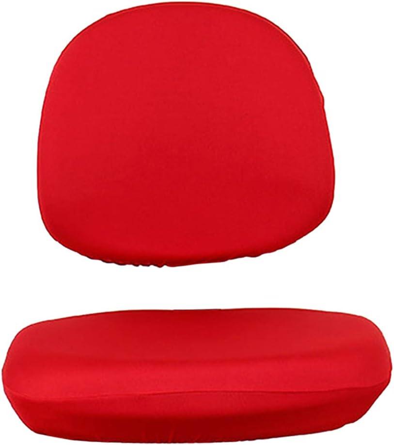 Sedie da Ufficio Spandex F Fityle Fodera per Sedia Elasticizzata Rimovibile Rosa