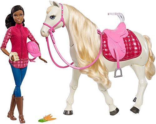 Barbie DreamHorse & Doll, Black Hair