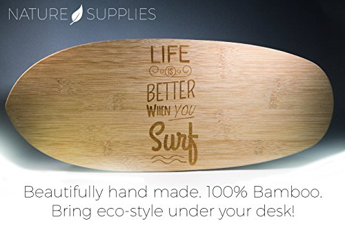 Review Bamboo Wood Surf Shaped