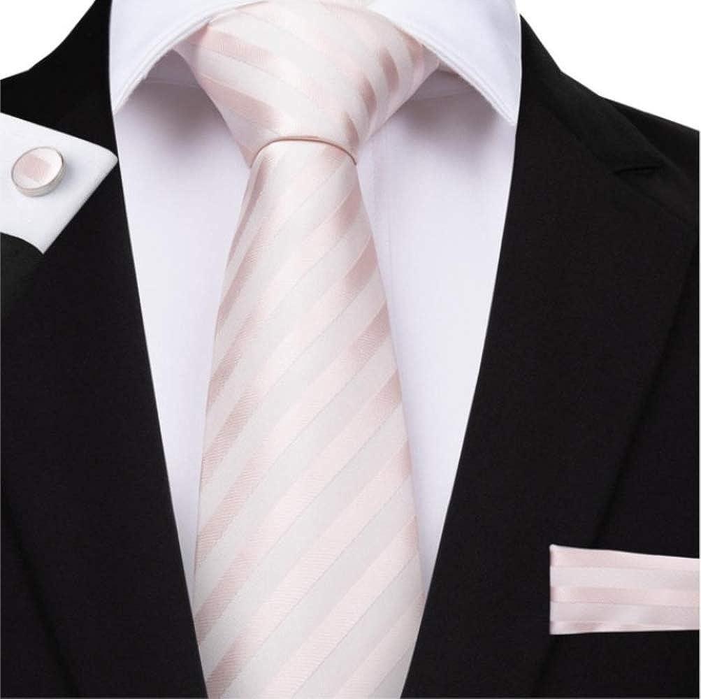 YiJiaMei Hombres de la moda regalos corbata clip de gemelos de ...