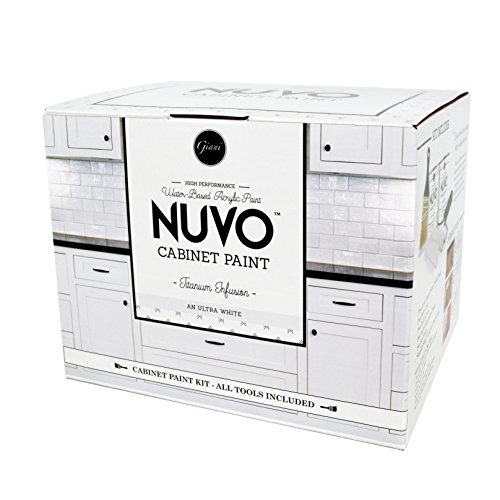 Nuvo Titanium Infusion 1 Day Cabinet Makeover Kit (Paint Cabinet)