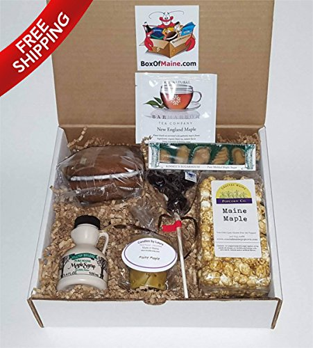 Maine Maple Sampler Gift Pack - 7 Count - Maine Made - Great for Holidays & Birthdays