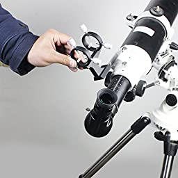 Solomark Adjustable Laser Pointer Bracket / Finder Scope Bracket for Astronomical Telescope - Convert Your Laser Pointer Into a Cool Finder for Your Telescope