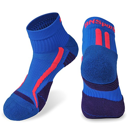 Men Coolmax Socks,Low Cut Athletic Socks 2 Pack Ultra breathable Super fit(Blue 2pair)