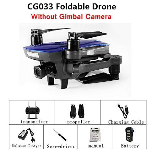 Generic AOSENMA CG033 Camera Drone WiFi FPV with HD 1080P Gimbal Dual GPS Brushless Servo Foldable RC Drone Quadcopter RTF Mode2 bluee Combo A