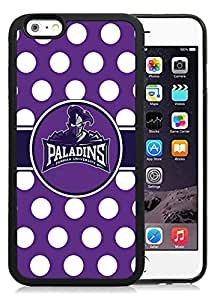 NCAA Southern Conference Football Furman Paladins 01 Protective Cell Phone TPU Cover Case for Iphone 6 Generation 4.7 Inch Black