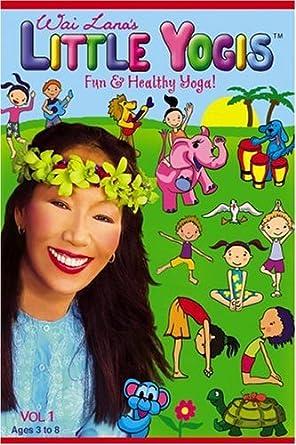 Amazon.com: Wai Lanas Little Yogis, Vol. 1: Wai Lana ...