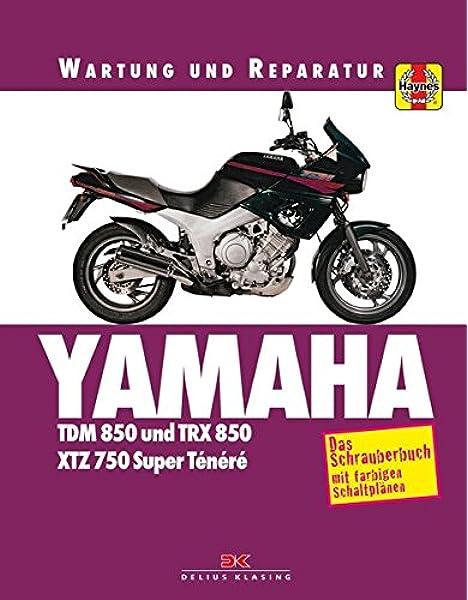 Yamaha TDM 850/TRX 850: Wartung und Reparatur.: Amazon ...