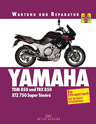 Yamaha TDM 850/TRX 850: Wartung und Reparatur.: Amazon.es ...