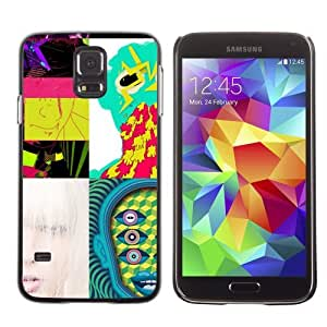 Designer Depo Hard Protection Case for Samsung Galaxy S5 / Abstract Pictures