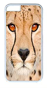 ACESR Cheetah iPhone 6 Hard Shell Case Polycarbonate Plastics Stylish Case for Apple iPhone 6(4.7 inch) White