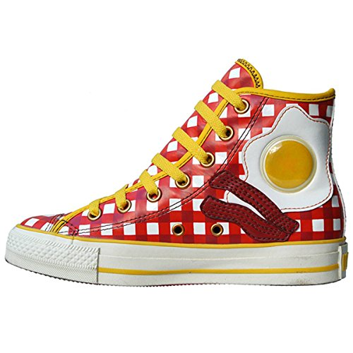 Converse Womens Ct Cabin Hi Eggs And Bacon Casual Sneaker Us 9