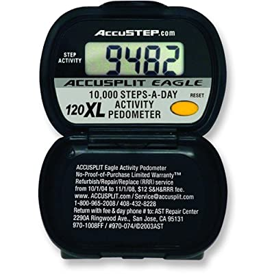 ACCUSPLIT AE120XL Certified Accurate Pedometer