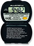 ACCUSPLIT AE120XL Certified Accurate Pedometer, Steps & Activity Timer