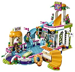 LEGO Friends Heartlake Summer Pool 41313 Building Kit