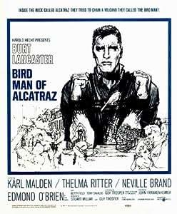 Birdman of Alcatraz Poster (30 x 30 Inches - 77cm x 77cm) (1962) Style B