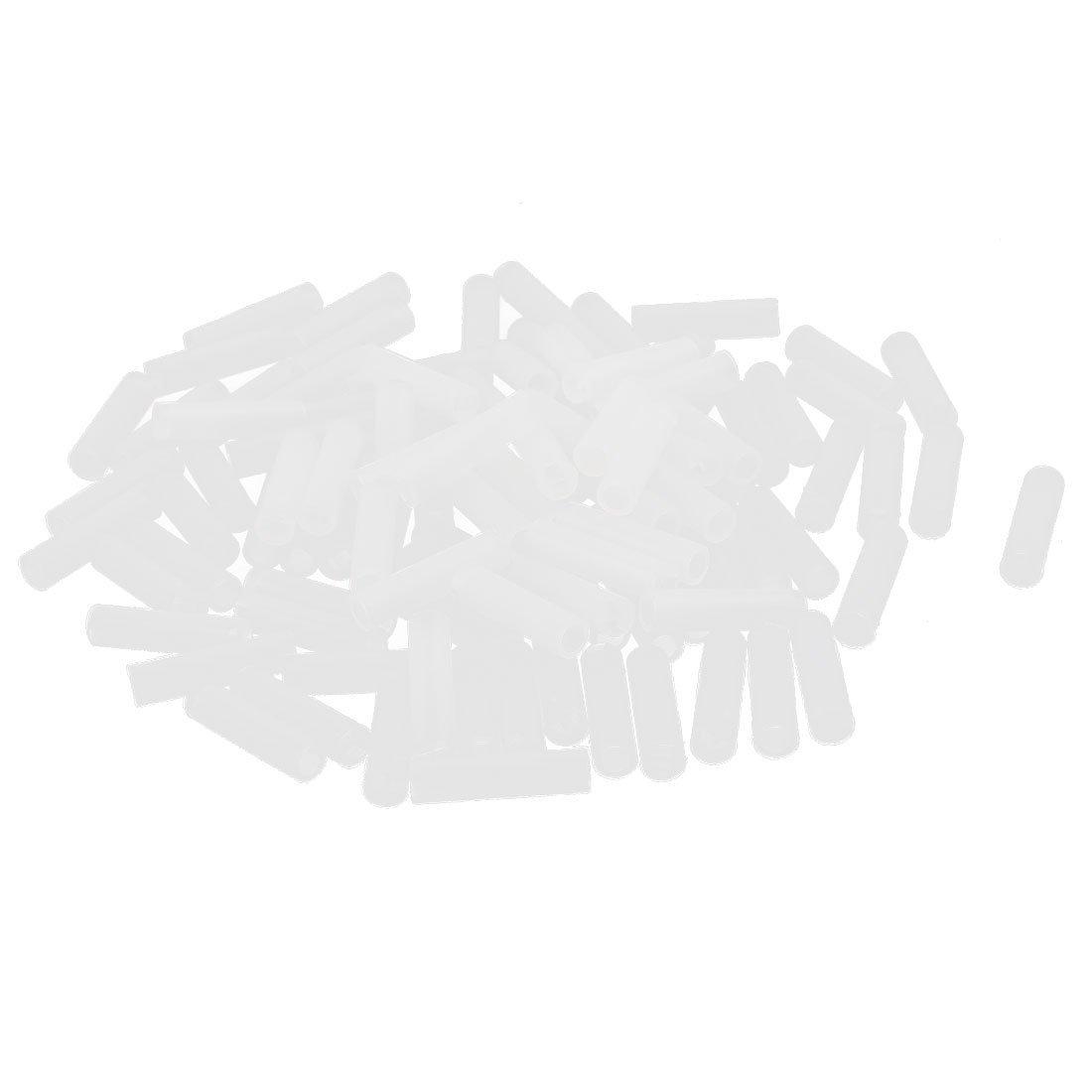 100Pcs 3mm White Nylon LED Spacer Mount Support Holder 16mm Length DealMux DLM-B00X7C65N4
