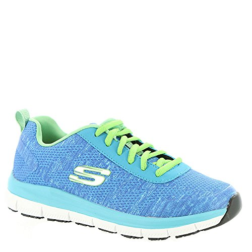 Skechers Work Women's Comfort Flex SR - HC Blue/Green 11 B US