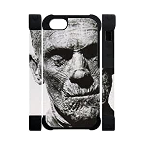 Canting_Good Mummy Custom Case Shell Skins for 3D iPhone 5 TPU (Laser Technology)