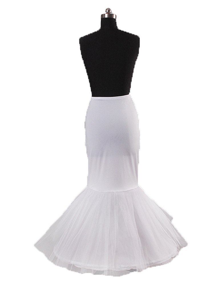 Snowskite Womens New Charming Mermaid Petticoat for Bridal Wedding Gown