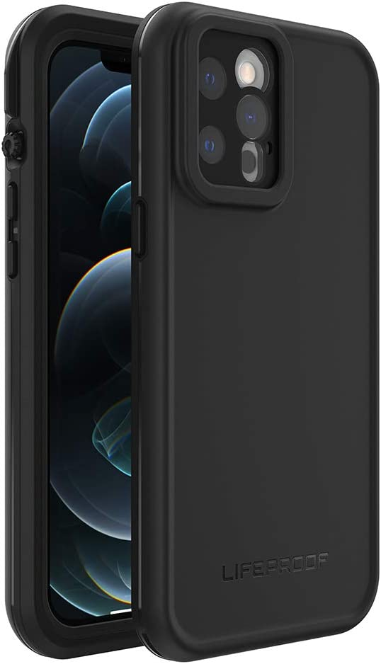 LifeProof FRE Series Waterproof Case for iPhone 12 Pro Max - Black (77-65931)