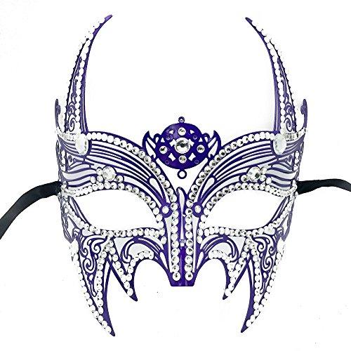 Purple Phantom Costume - New Wolverine Men's Mask Laser Cut