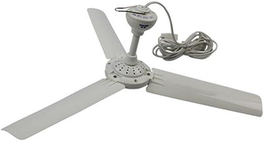 CivilWeaEU Ventilador de Techo Mini Ventilador de Techo 3 Hojas ...