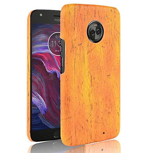 (AICEDA Motorola Moto X4 Wallet Case, [Folio Style ] Premium Motorola Moto X4 Card Cases STAND Feature for Motorola Moto X4 [Yellow ] phone case Flip Cover with phone case)