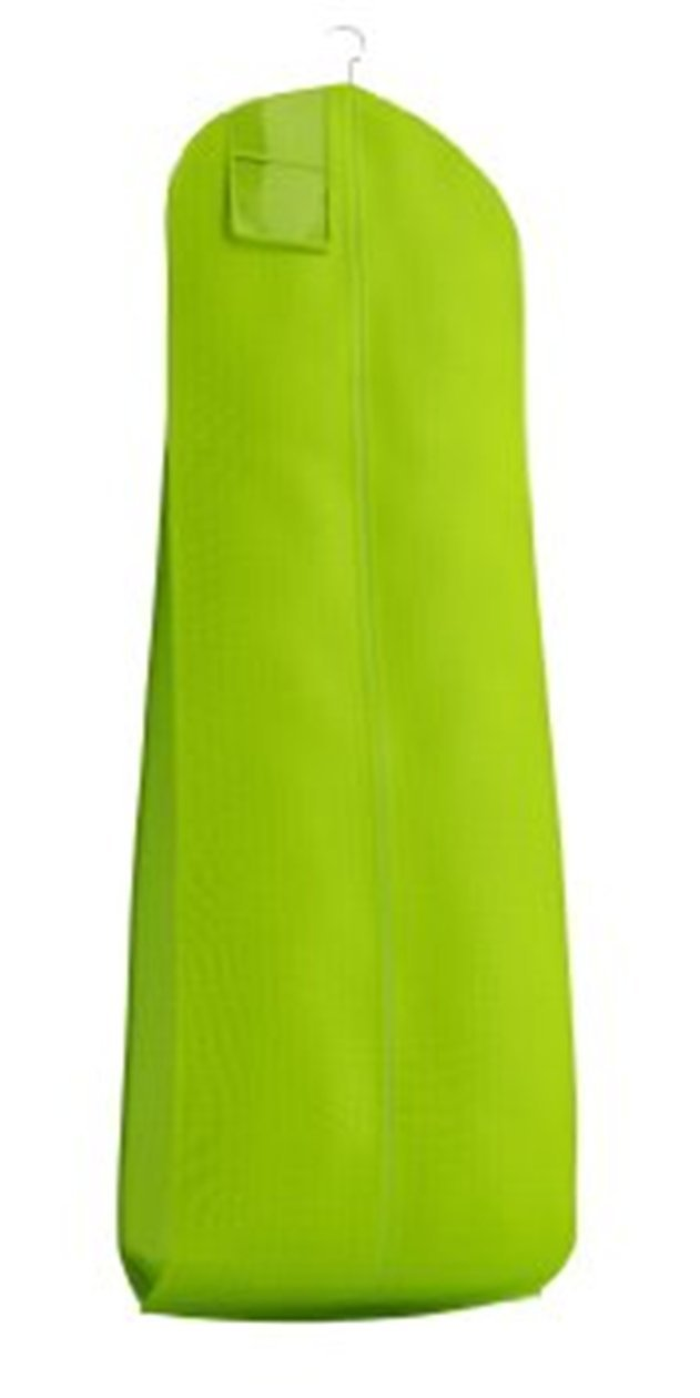 Lime Green Breathable Cloth Wedding Gown Garment Bag (600GBL)