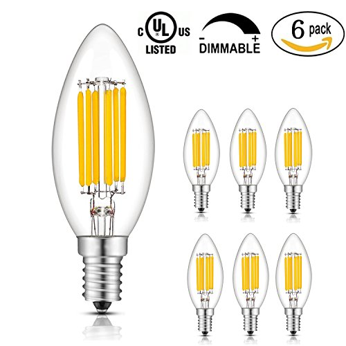 Dimmable Candle Led Light Bulbs