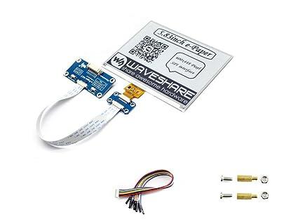 Amazon Com 5 83inch E Paper Display Hat Module 600x448 E Ink