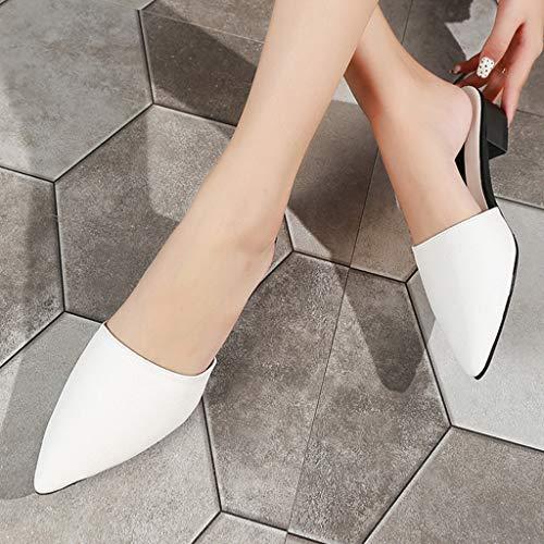 White Casuali On A Scarpe Dimensioni Confortevole Donna Eleganti xrFAPrqw0